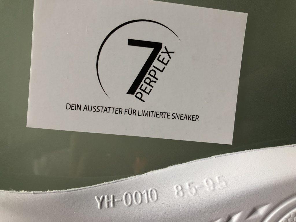 7 Perplex verkauft limitierte Sneaker von adidas Yeezy, Nike Off White und Air Jordan.
